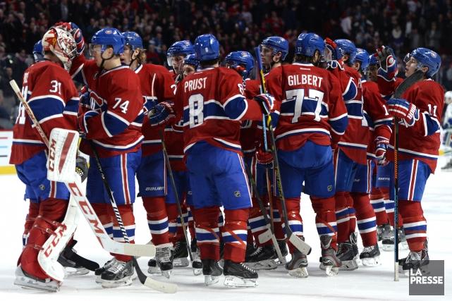 Le Canadien a terminé 2014 avec quatre victoires... (Photo Bernard Brault, Archives La Presse)