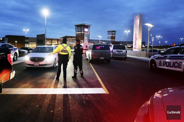 Trois fusillades se sont produites en quatre jours... (Photo Étienne Ranger, LeDroit)