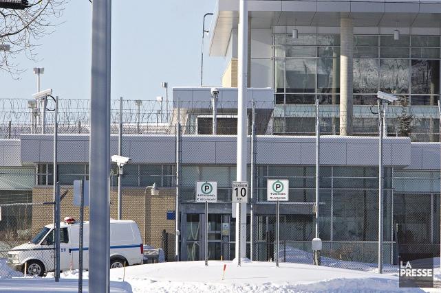 Lecentre de détention de Rivière-des-Prairies, à Montréal... (Photo Patrick Sanfaçon, Archives La Presse)