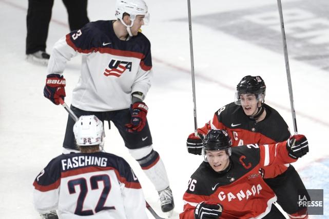 C'est drôle comme les choses changent vite dans le hockey international. Équipe... (Photo Bernard Brault, La Presse)