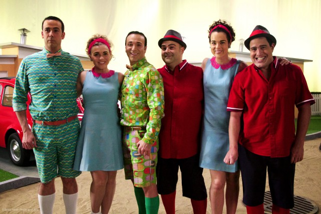 L'équipe du Bye bye 2014... (Photo ICI Radio-Canada télé)