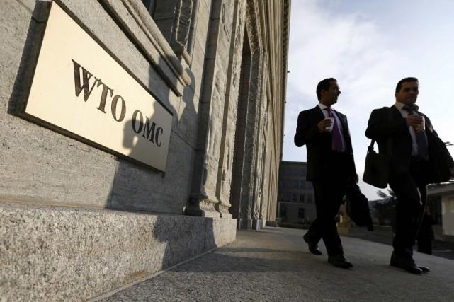 La dixième conférence ministérielle de l'OMC aura lieu... (Photo DENIS BALIBOUSE, Reuters)