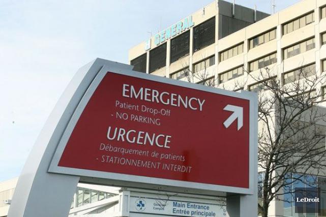 L'Hôpital d'Ottawa a accueilli les premiers bébés de l'année, tôt jeudi matin. (Patrick Woodbury, Archives, LeDroit)