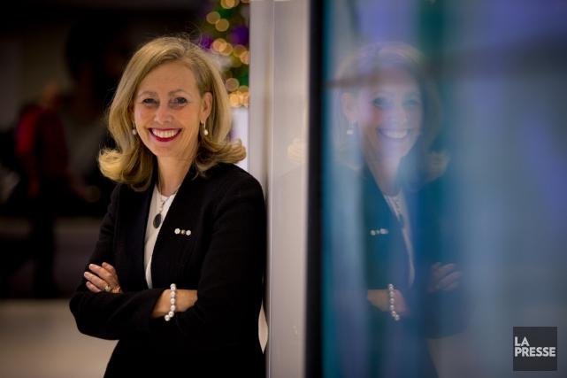 Avant de poser sa candidature à la tête de Desjardins, Monique F. Leroux a fait... (PHOTO FRANÇOIS ROY, ARCHIVES LA PRESSE)
