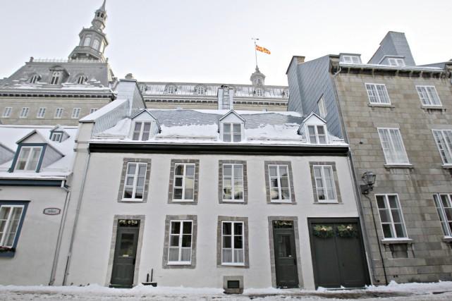 La maison Leboeuf, rue Hébert. On remarque ses... (Photo Pascal Ratthé, collaboration spéciale)