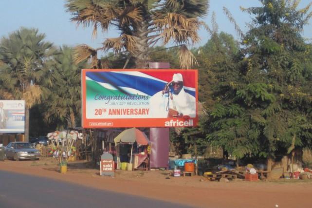 Le président Yahya Jammeh a démenti jeudi toute... (Photo AP)