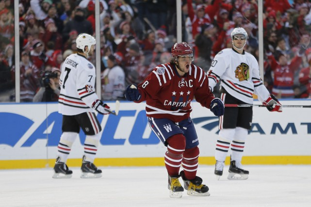 Ovechkin a obtenu une mention d'aide sur le... (Photo USA Today Sports)