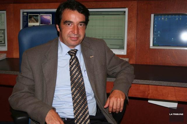 Patrick Lemaire, président et chef de la direction... (La Tribune, Yanick Poisson)