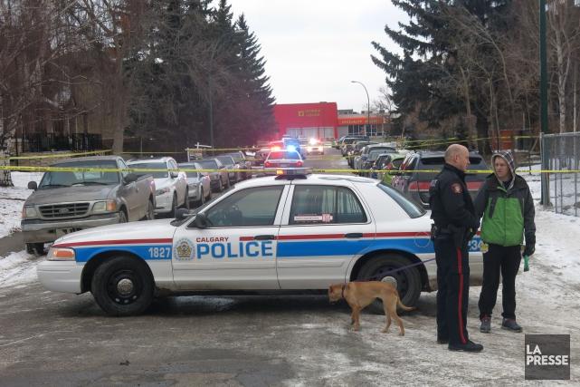 Une personne est morte et six autres ont été blessées dans une fusillade... (Photo Bill Graveland, PC)