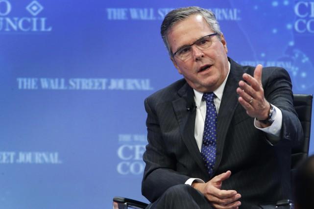 Le 16 décembre, Jeb Bush, qui a 61... (Photo Reuters)