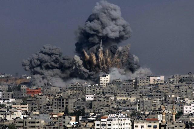 Le conflit de l'été 2014 est donc la... (PHOTO ASHRAF AMRA, AFP)