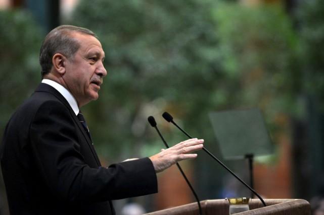 Ce procès est le premier concernant la retentissante... (Photo Turkish Presidential Press Service, AP)