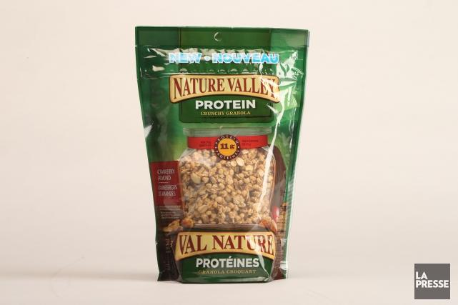 Une demi-tasse (53 g) de ces céréales contient 15 g de sucre, l'équivalent... (Photo Martin Chamberland, La Presse)