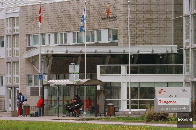 Le Centre mère-enfant du CHUL... (Le Soleil, Jean-Marie Villeneuve)