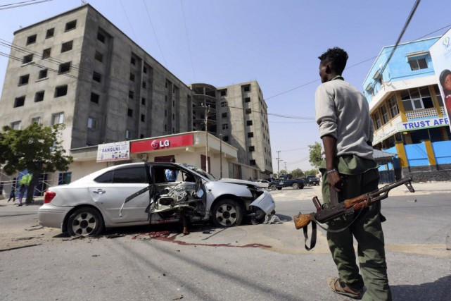 Dans la capitale Mogadiscio, un civil a été... (Photo Feisal Omar, Reuters)
