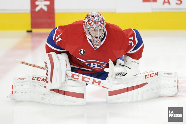 Carey Price disputera son 400e match dans la... (Photo Bernard Brault, La Presse)