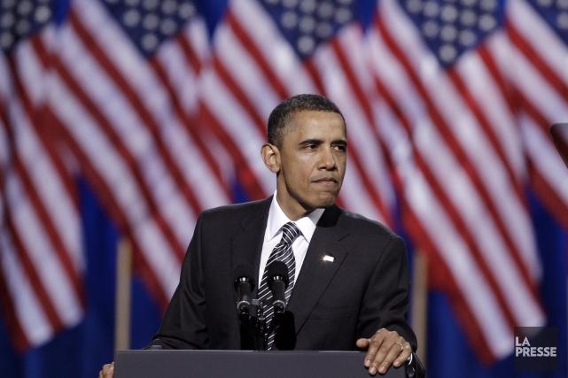 Le président américain, Barack Obama... (Photo Reed Saxon, Archives AP)