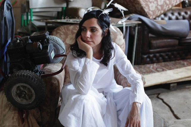 La chanteuse britannique PJ Harvey... (PHOTO FOURNIE PAR ISLAND RECORDS)