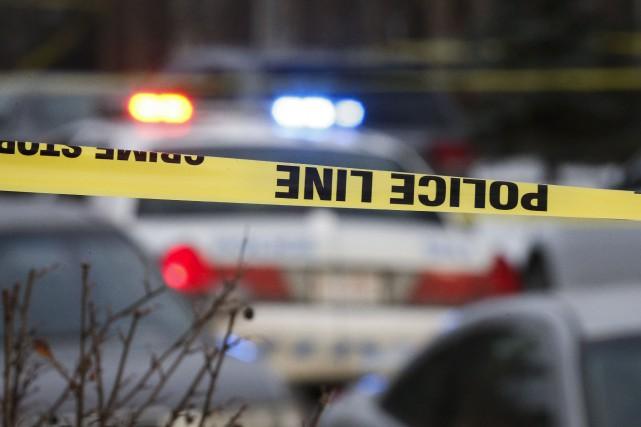 La police de Calgary ne sait toujours pas ce qui a mené à une fusillade dans... (Photo Jeff McIntosh, PC)