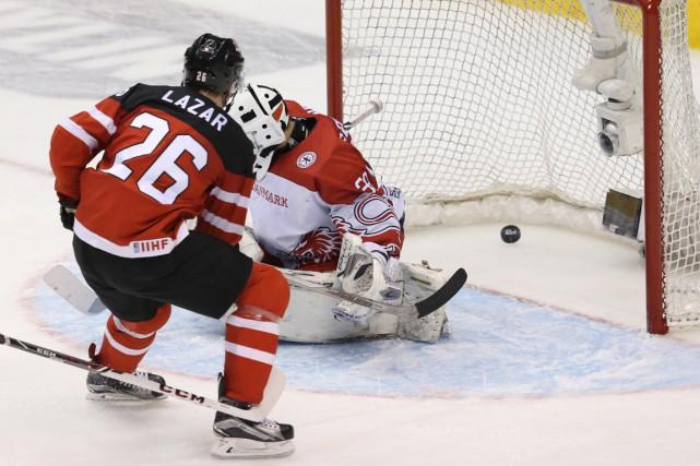 Connor McDavid a récolté deux aides impressionnantes et a marqué un but... (Photo Rick Madonik, Toronto Star)