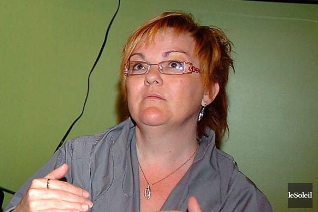 La citoyenne Sylvie Asselin ne fait pas de... (Photothèque Le Soleil)