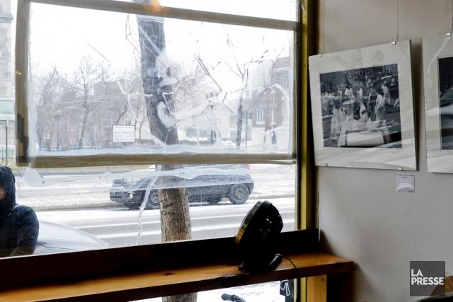 Le 29décembre, un premier pavé a été lancé... (Photo Bernard Brault, La Presse)