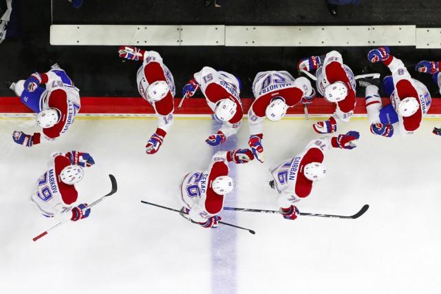 Les Canadiens de Montréal, c'est le Centre Bell,... (Photo James Guillory, USA Today Sports)