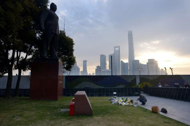 La bousculade a également fait 49 blessés et... (Photo WANG ZHAO, AFP)