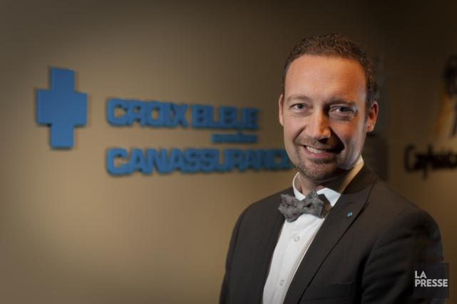 Guillaume Fauteux est directeur des ventes - Courtage... (Photo André Pichette, La Presse)