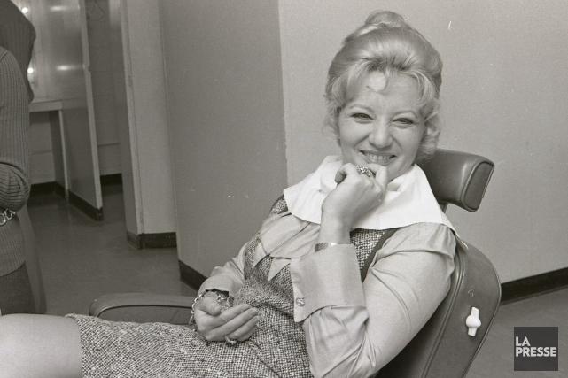 Suzanne Lapointe en 1970... (Photo Paul Henri Talbot, Archives La Presse)