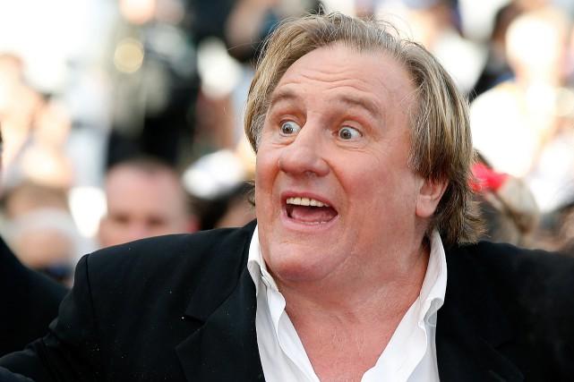 L'acteur Gérard Depardieu, l'un des artistes français les... (Photo archives AFP)