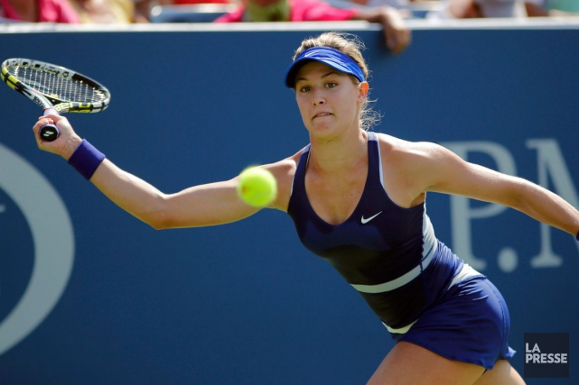 Eugenie Bouchard... (PHOTO EDUARDO MUNOZ, ARCHIVES REUTERS)