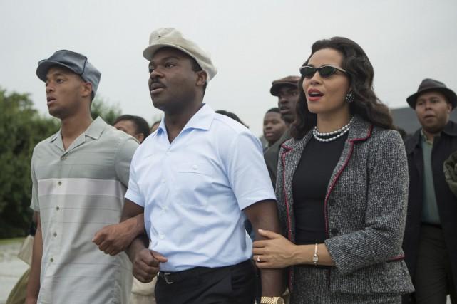 David Oyelowo, au centre, dans le rôle de... (Photo fournie par Paramount Pictures)