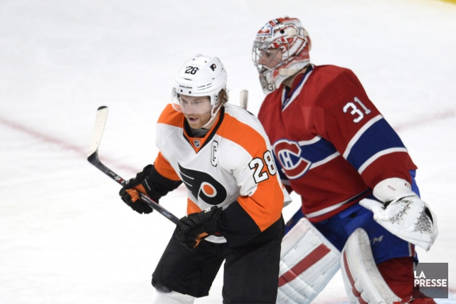 Giroux a fourni 13 buts et 43 points... (Photo Bernard Brault, Archives La Presse)