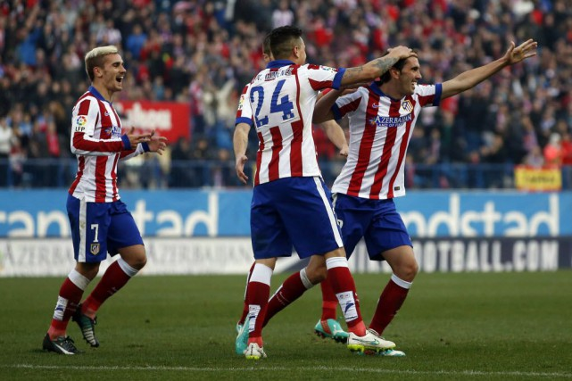 L'Atletico Madrid a entamé 2015 par une victoire... (Photo Susana Vera, Reuters)