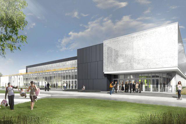 Le futur Centrexpo de Drummondville... (Photo fournie)