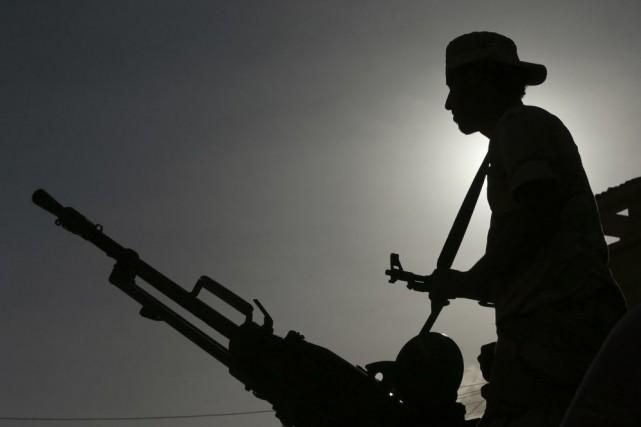 La Libye est plongée dans le chaos depuis... (Photo Esam Omran Al-Fetori, Archives Reuters)