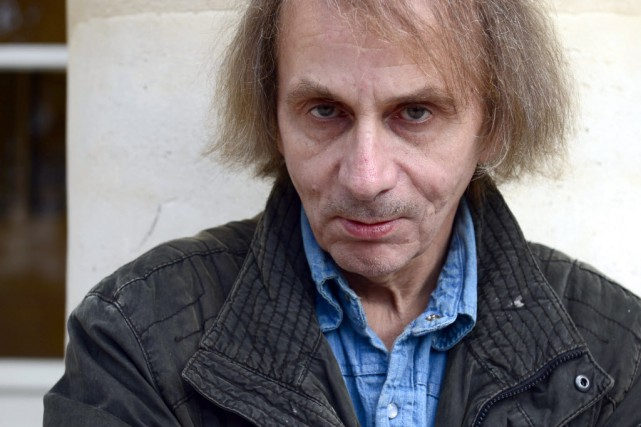 Michel Houellebecq, 56 ans, enfant terrible de la... (PHOTO MIGUEL MEDINA, AFP)