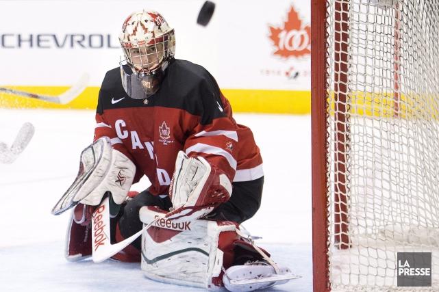 L'entraîneur-chef Benoît Groulx a confirmé que Zachary Fucale... (Photo Nathan Denette, La Presse Canadienne)