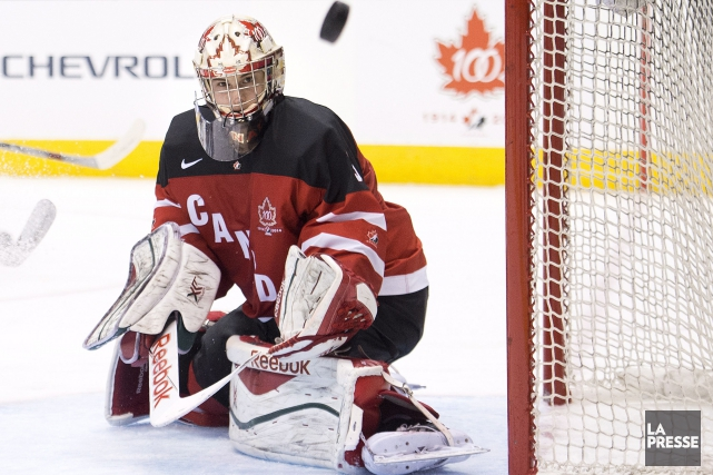 Zachary Fucale obtiendra un second départ consécutif devant... (Photo Nathan Denette, La Presse Canadienne)