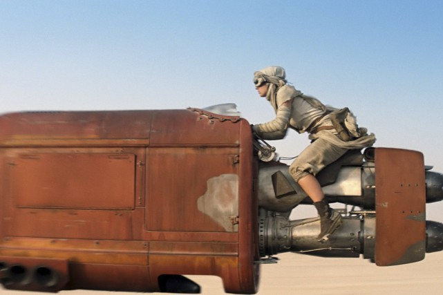 Star Wars: Episode VII - The Force Awakens... (PHOTO FOURNIE PAR LUCASFILM, DISNEY)