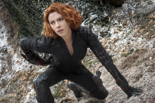 Scarlett Johansson dans The Avengers.... (PHOTO FOURNIE PAR MARVEL)