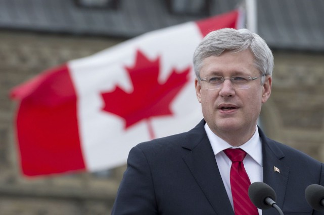 Le gouvernement conservateur de Stephen Harper réagissait à... (Photo Adrian Wyld, Archives PC)