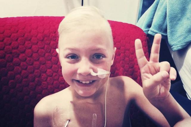 Jean-Gilles Gadoury garde le sourire malgré la maladie.... (Photo fournie par la famille)