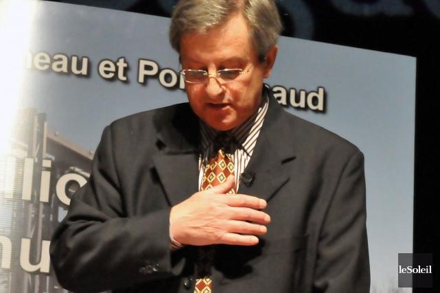 Le maire de Saguenay, Jean Tremblay.... (Photothèque Le Soleil)