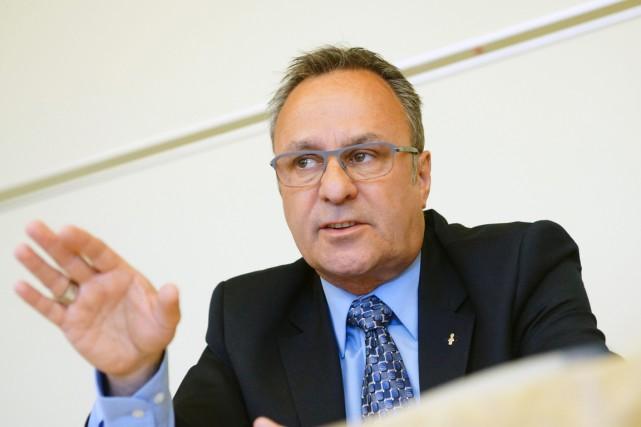 Le président de la Fédération des travailleurs du... (PHOTO MARIO BEAUREGARD, ARCHIVES PC)