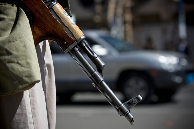 Craignant des attaques d'al-Qaïda, les houthis ont récemment... (Photo Hani Mohammed, Archives AP)
