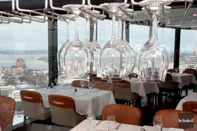 Le nouveau restaurant Ciel! de l'hôtel Le Concorde... (Photothèque Le Soleil, Erick Labbé)