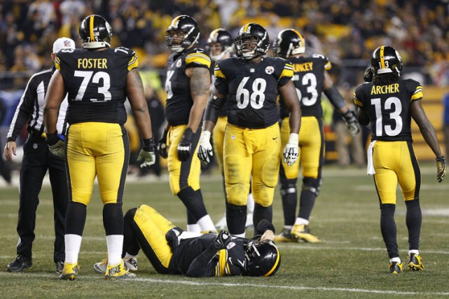 Tel un rouleau-compresseur, les Steelers de Pittsburgh ont franchi le mois de... (Photo: Reuters)