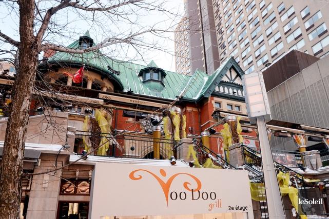 Le restaurant Voo Doo Grill est situé sur... (Photothèque Le Soleil, Erick Labbé)